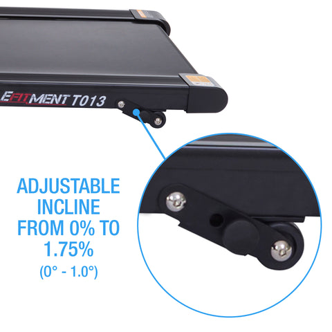 adjustable incline