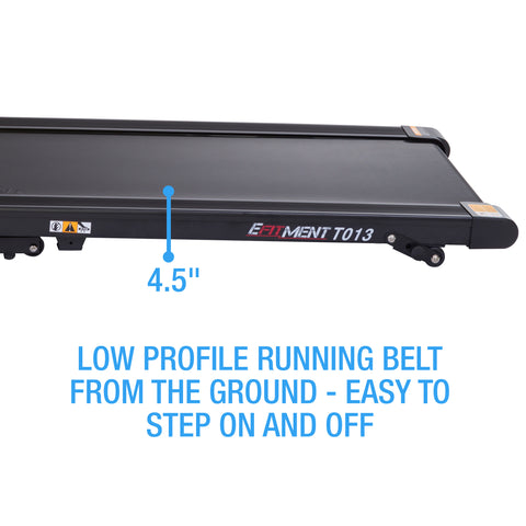 low profile running deck
