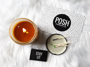 Posh Candle Co  | Scented Soy Candles, Smudge & Incense