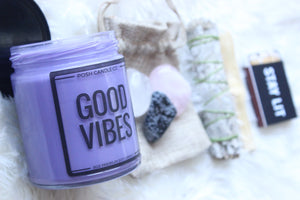 Good Vibes Box - Posh Candle Co.