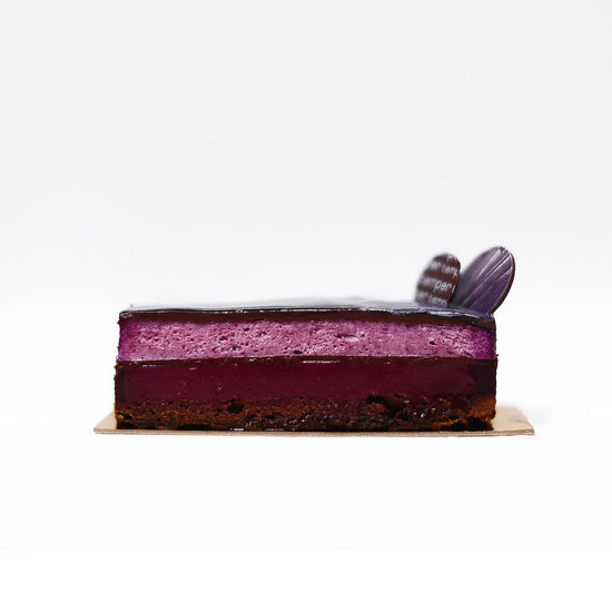 Cassis and Chocolate Cake