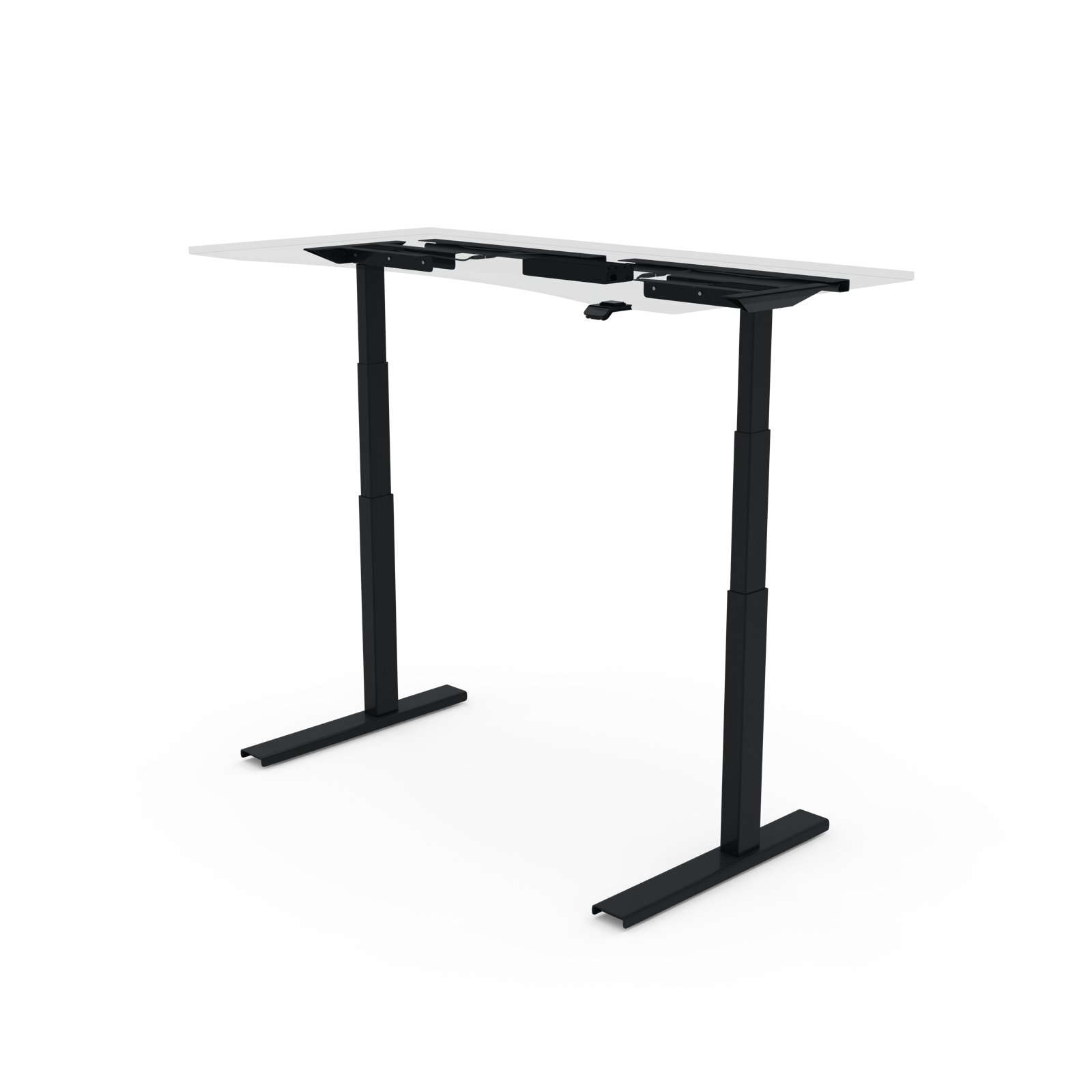 UPDESK Pro Frame Only 2-Leg DIY Electric Adjustable Standing Desk Frame w/ 22