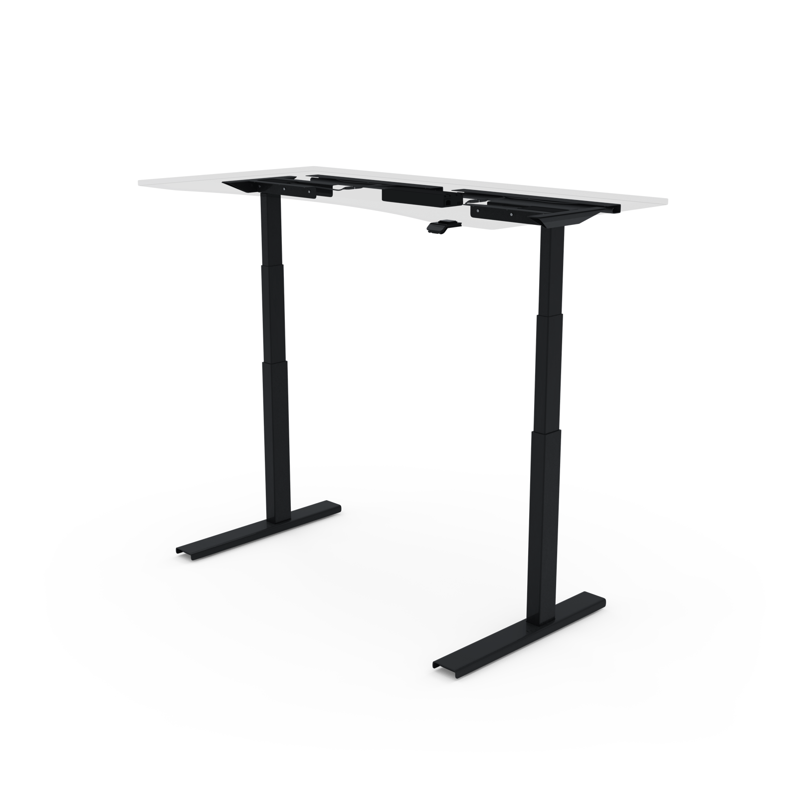 UPDESK Pro Frame Only 2-Leg DIY Electric Adjustable Standing Desk Frame