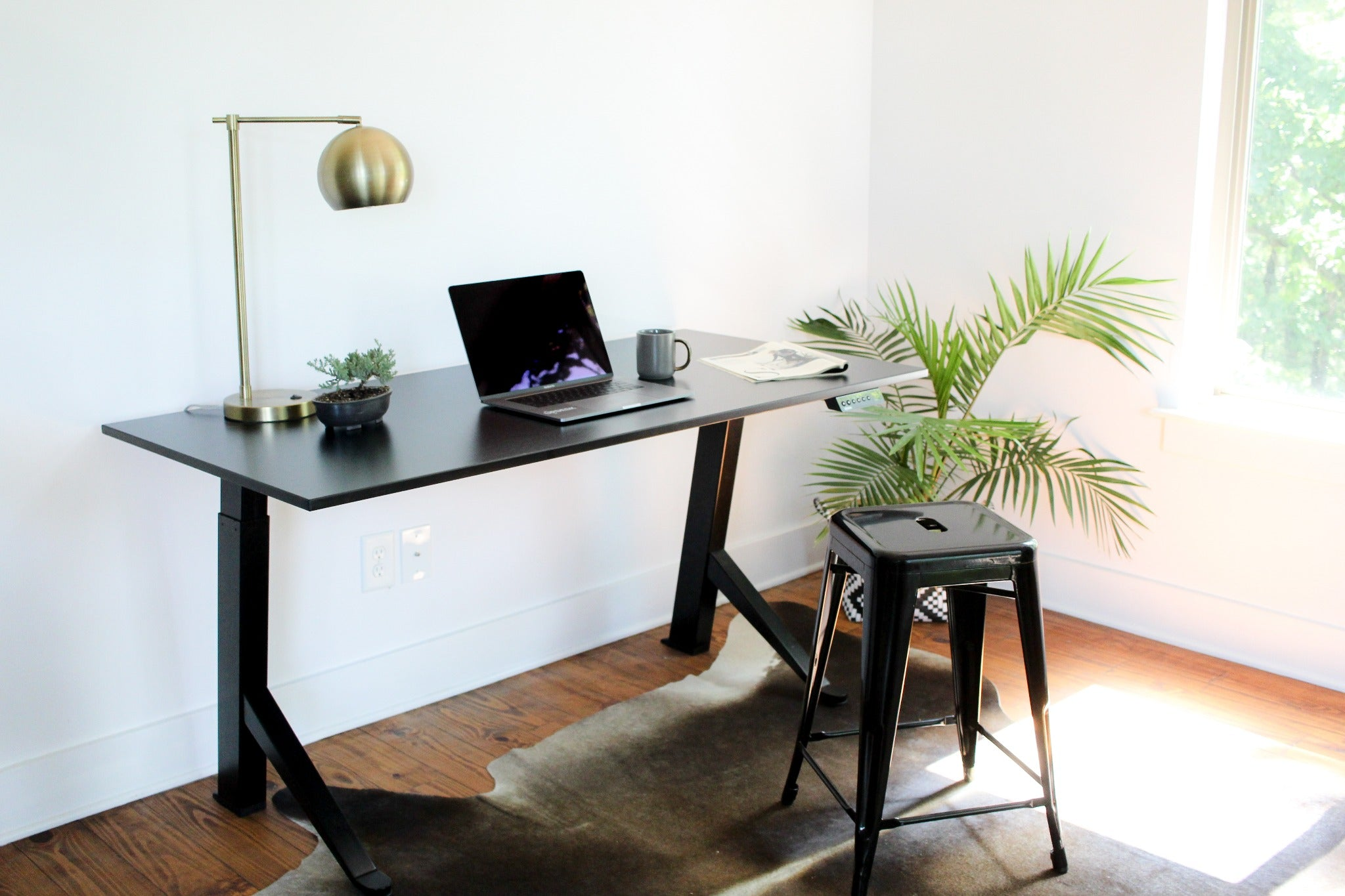 UPDESK Home Electric Adjustable Standing Desk