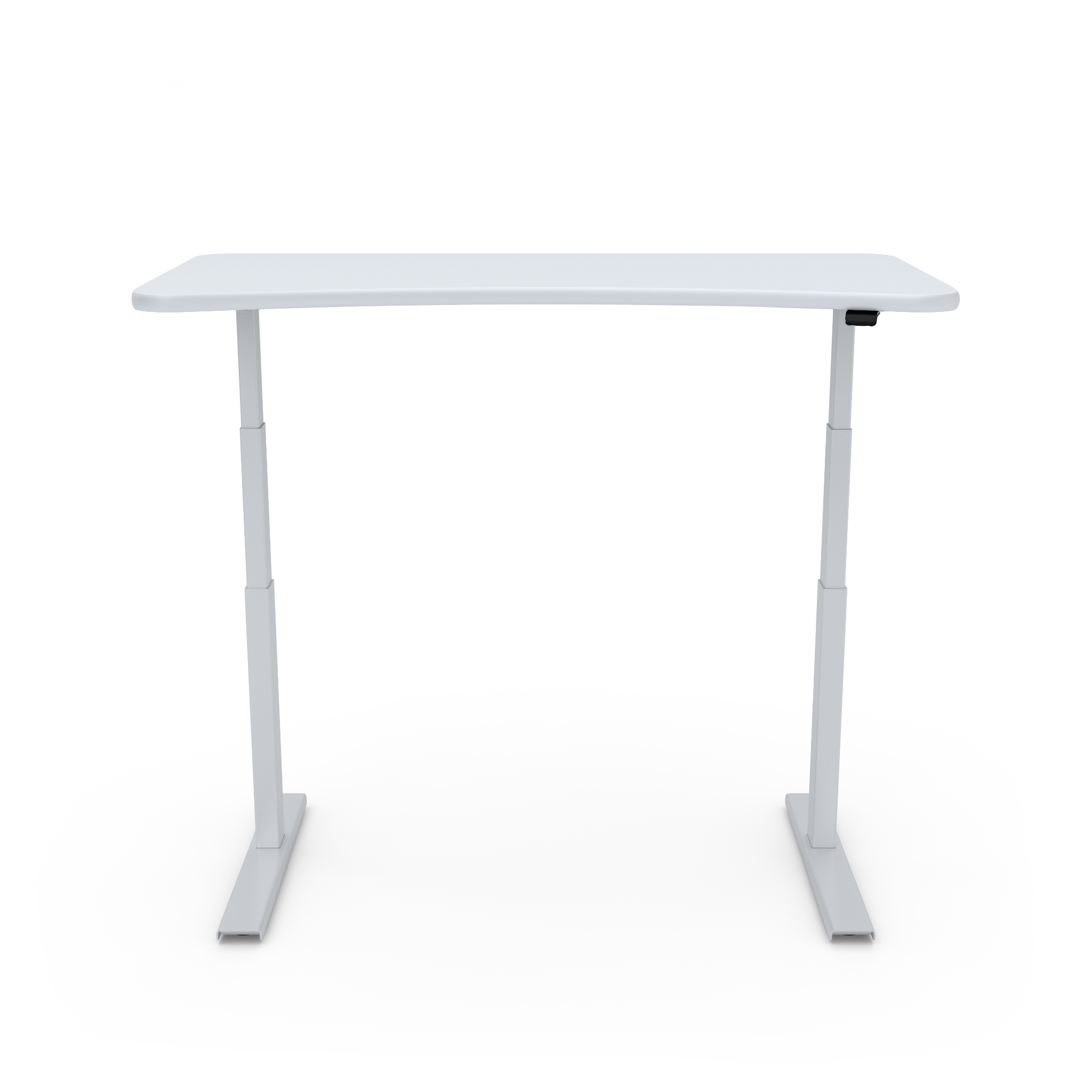 UPDESK Electric Lift Standing Desk - Standard White Top on White Frame **CLOSEOUT**