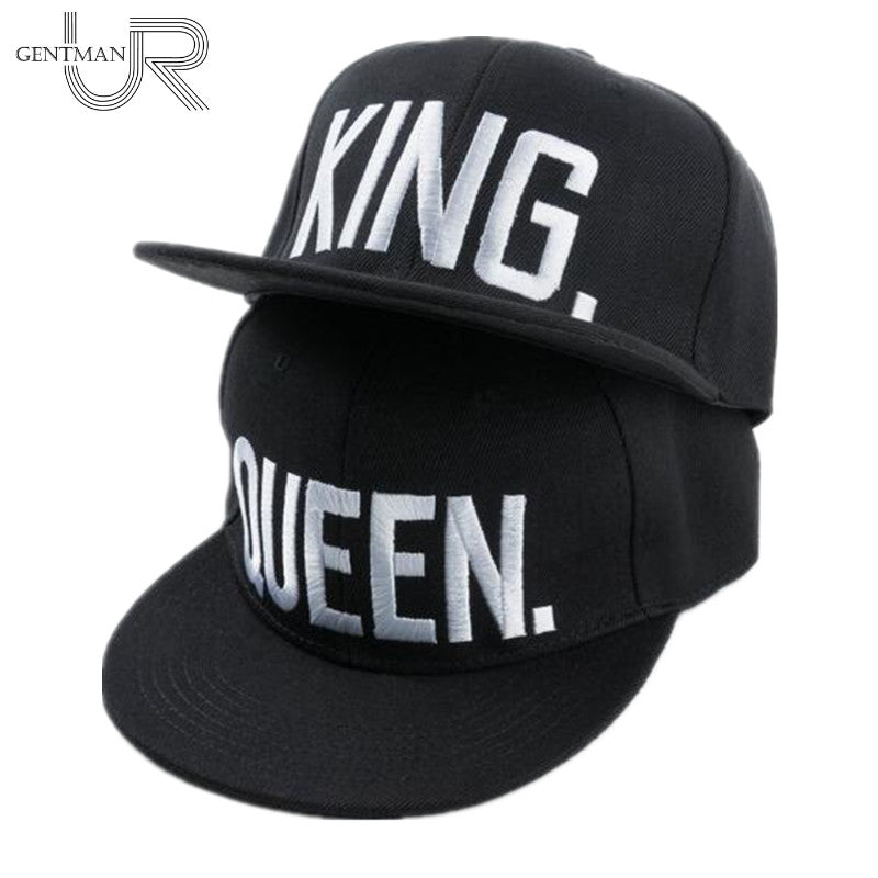 """KING"" or ""QUEEN"" Embroidered Snapback"