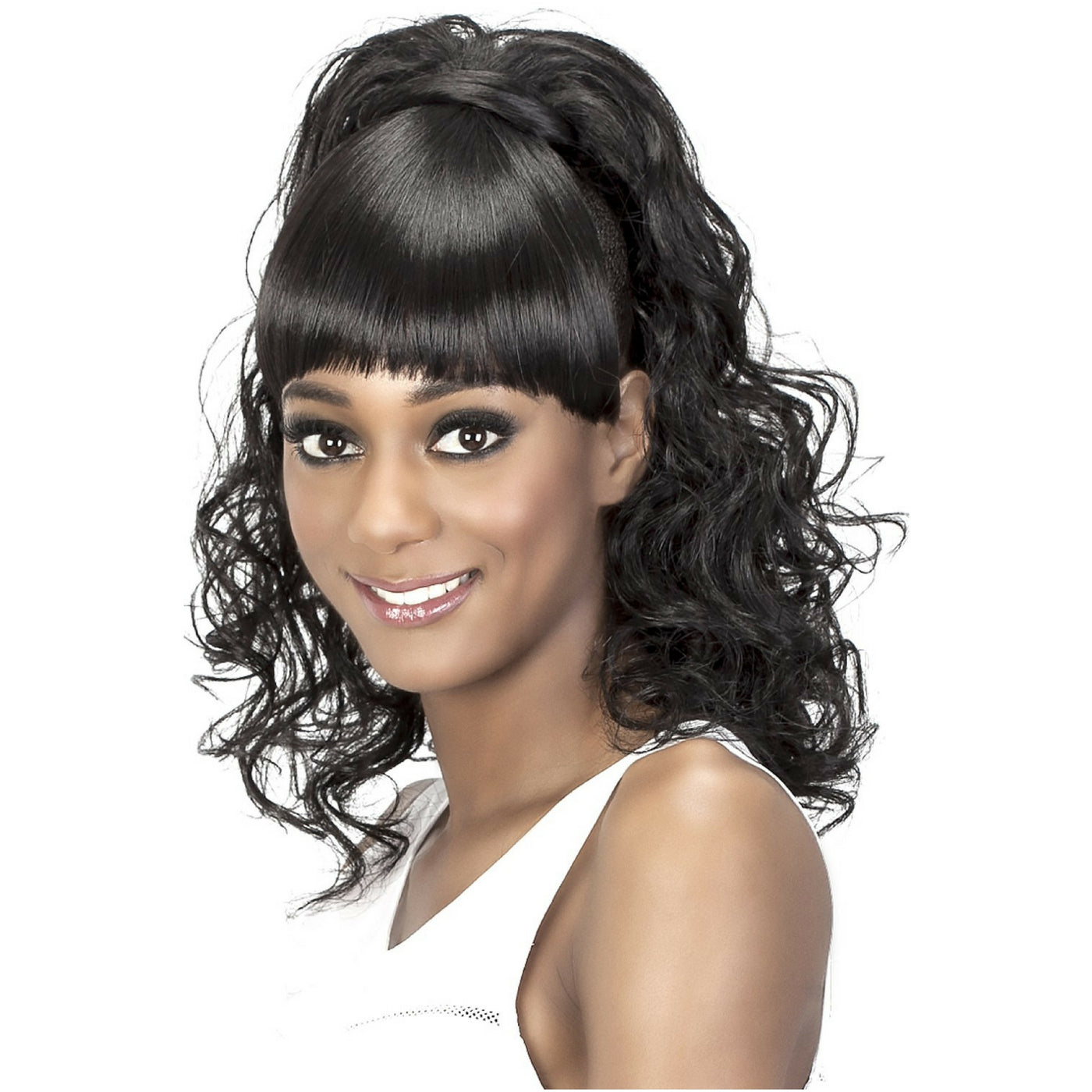 Felicia Fox vivica fox synthetic hair bang-n-pony ponytail felicia
