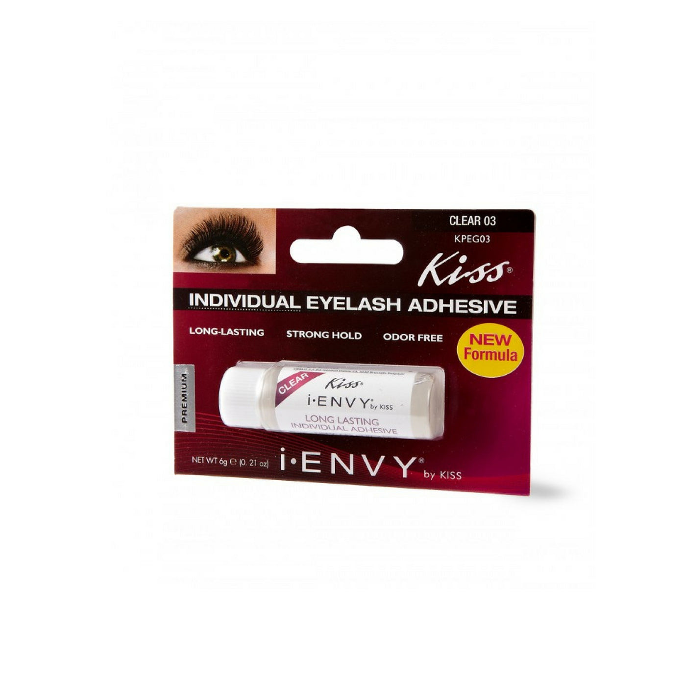 ae62de9a69c ... I-ENVY BY KISS Semi-Permanent INDIVIDUAL Eyelash GLUE - Queen J Beauty