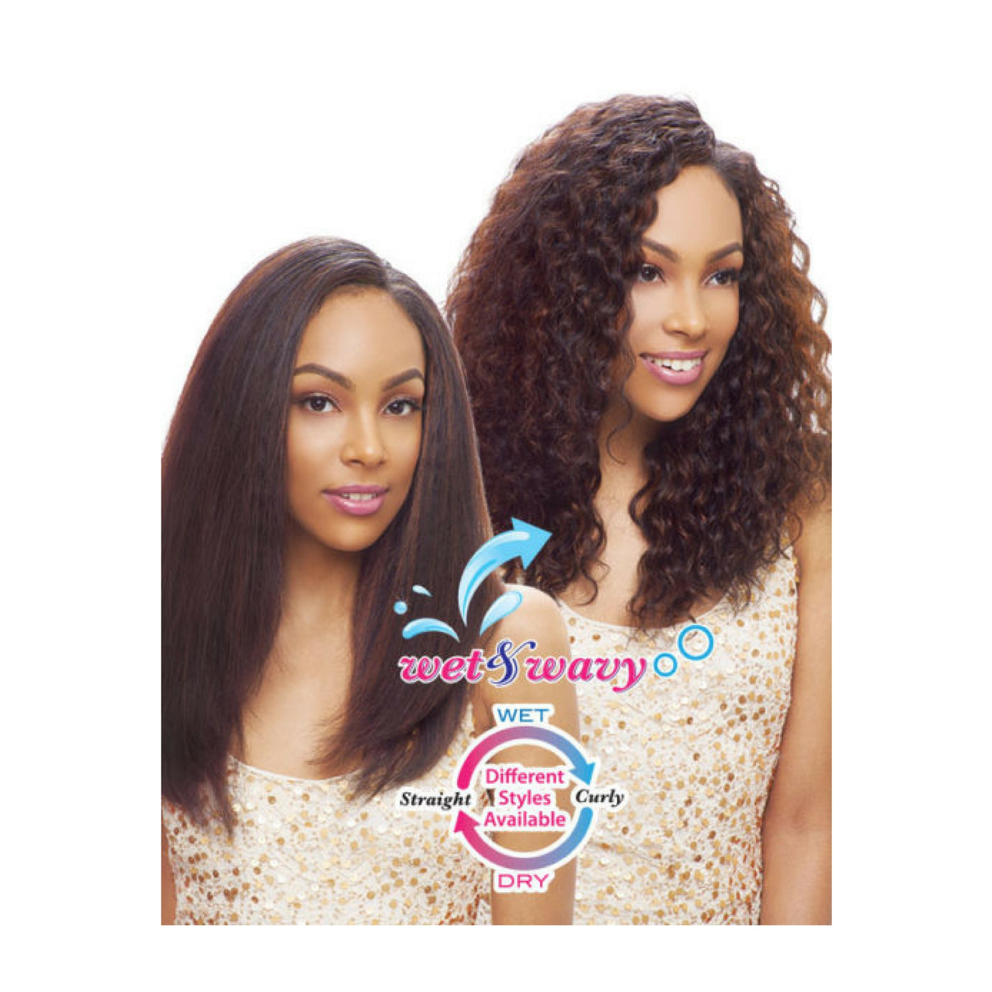 Janet Collection 100 Indian Remy Yaki Human Hair Ripple Deep Weave