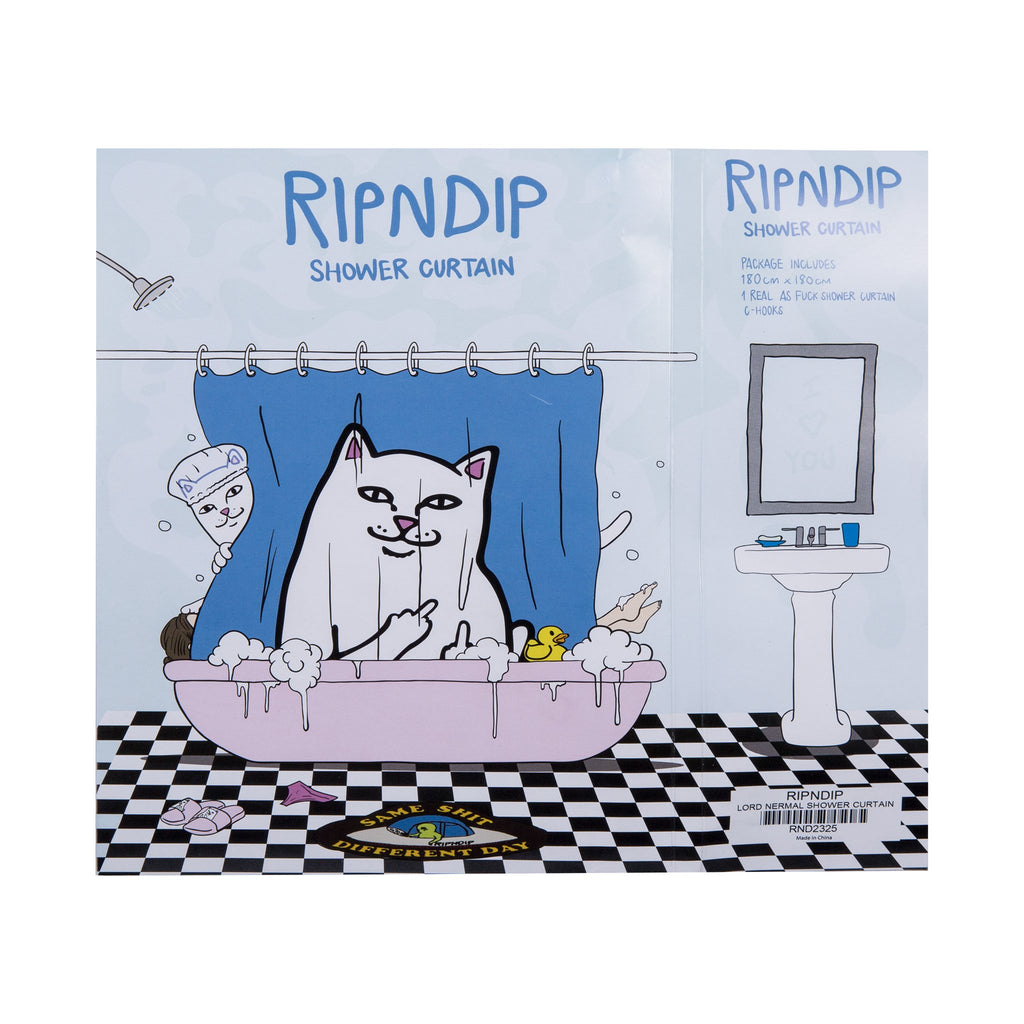Lord Nermal Shower Curtain(Blue)