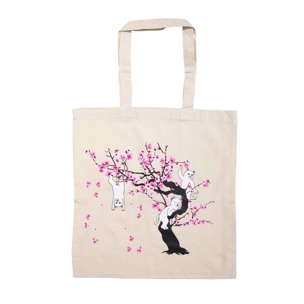 Cherry B Tote (Natural Canvas)