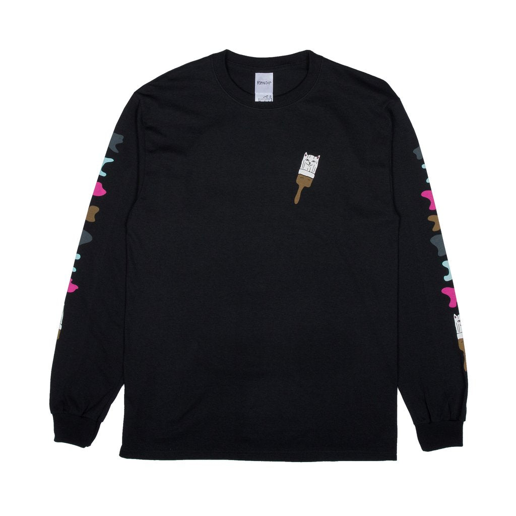 Beautiful Mountain L/S (Black)