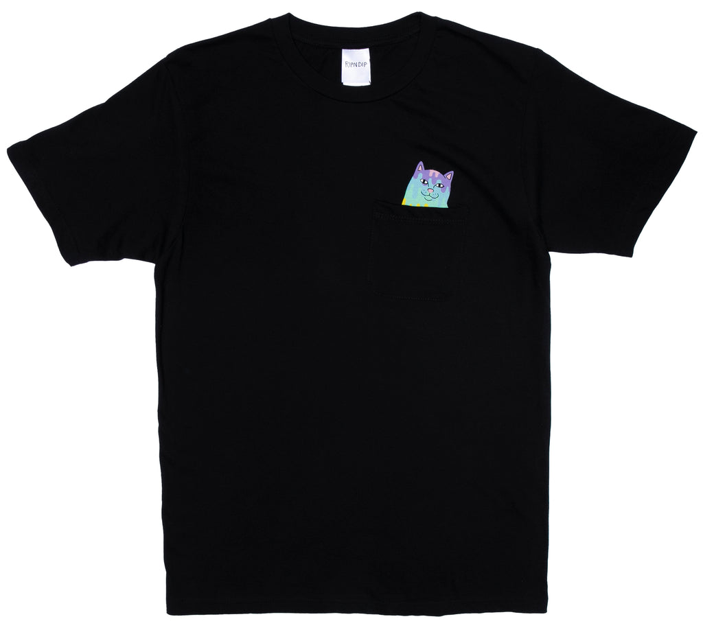Rainbow Nerm Pocket Tee (Black)