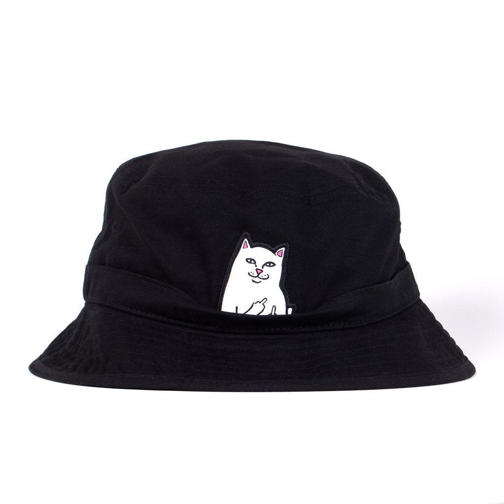 Lord Nermal Bucket Hat (Black)