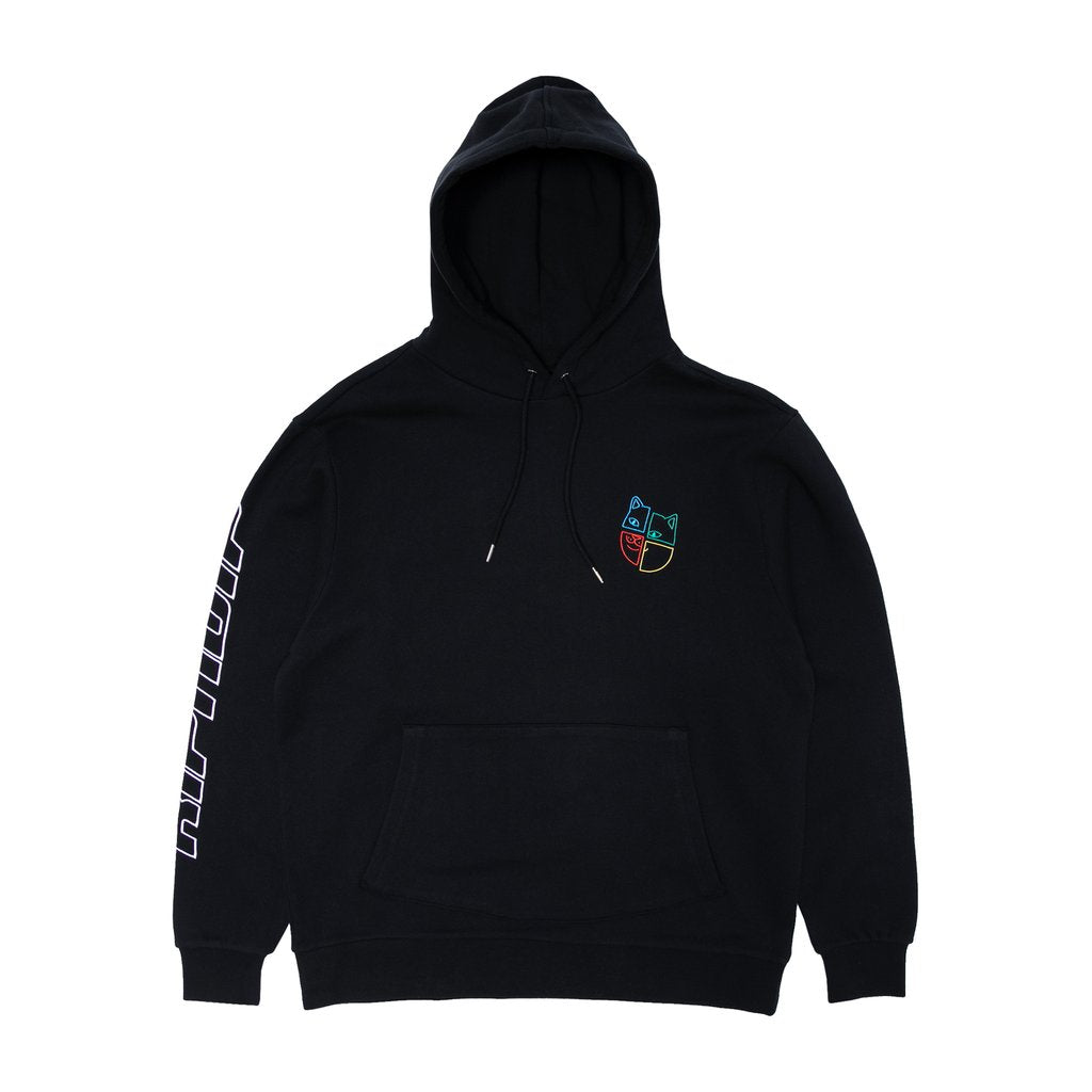 Square Up Hoodie (Black)