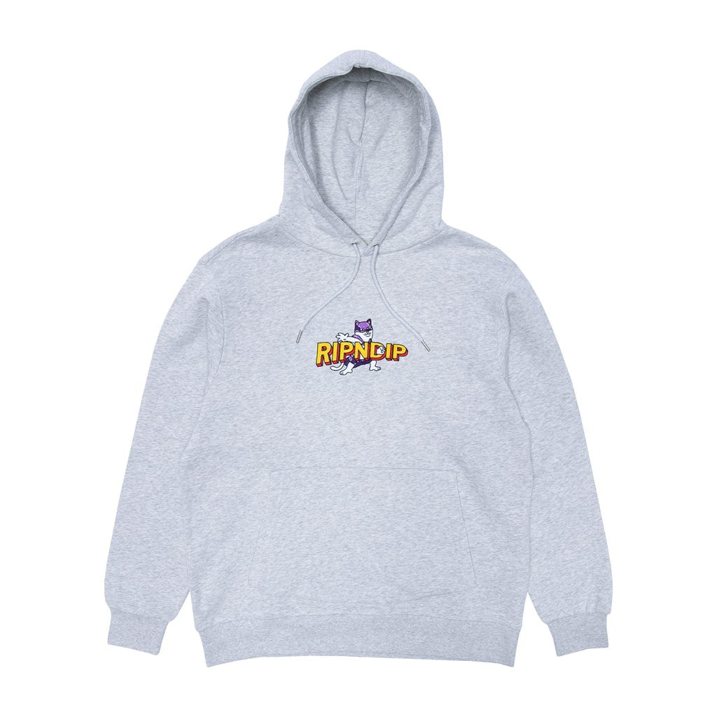 Captain Nermal Pants Hoodie (Heather Grey)