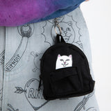 Lord Nermal Mini Backpack Key Chain (Black)
