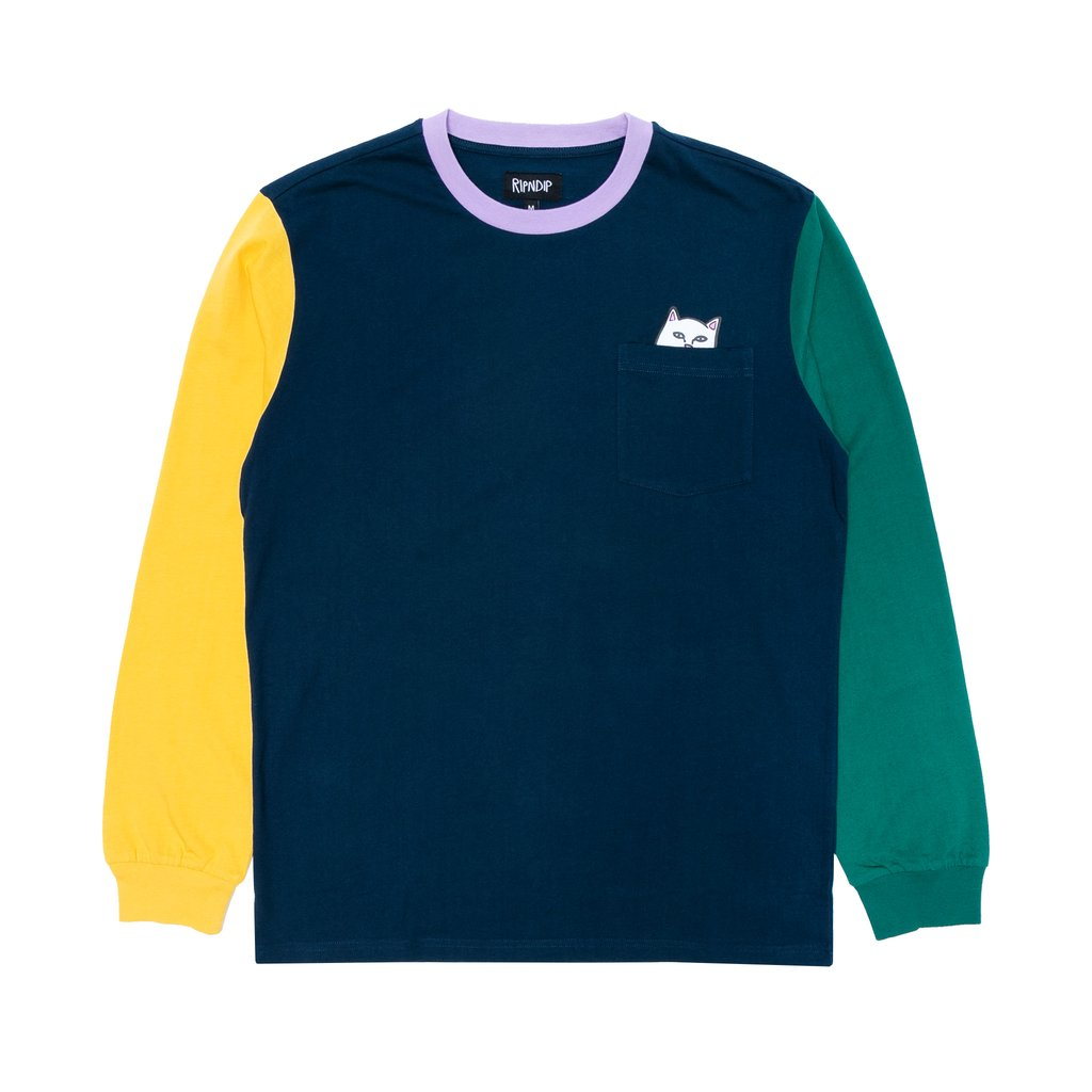 Lord Nermal Color Block Long Sleeve (Multi)