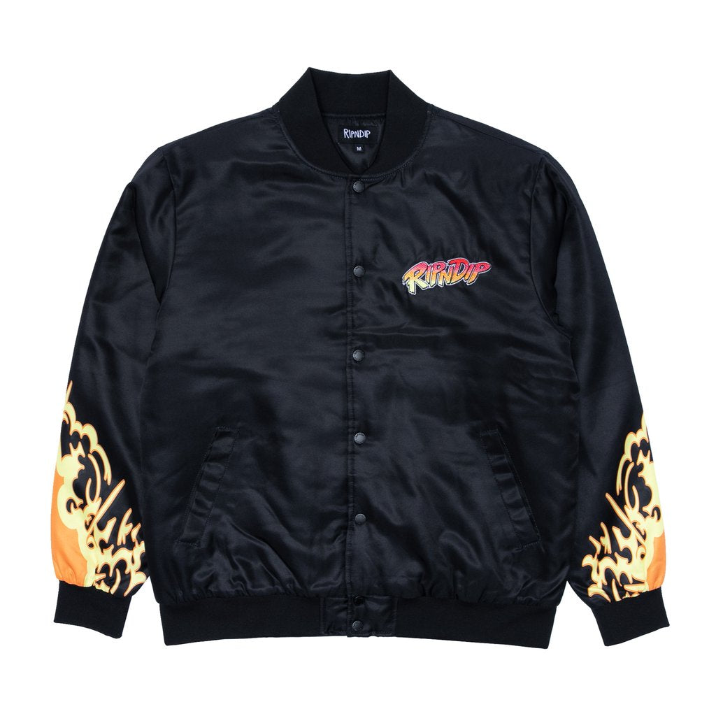 Nerm Fighter Jacket (Black)