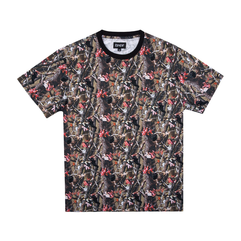 Nerm & Jerm Tree Camo Pocket Tee (Multi)