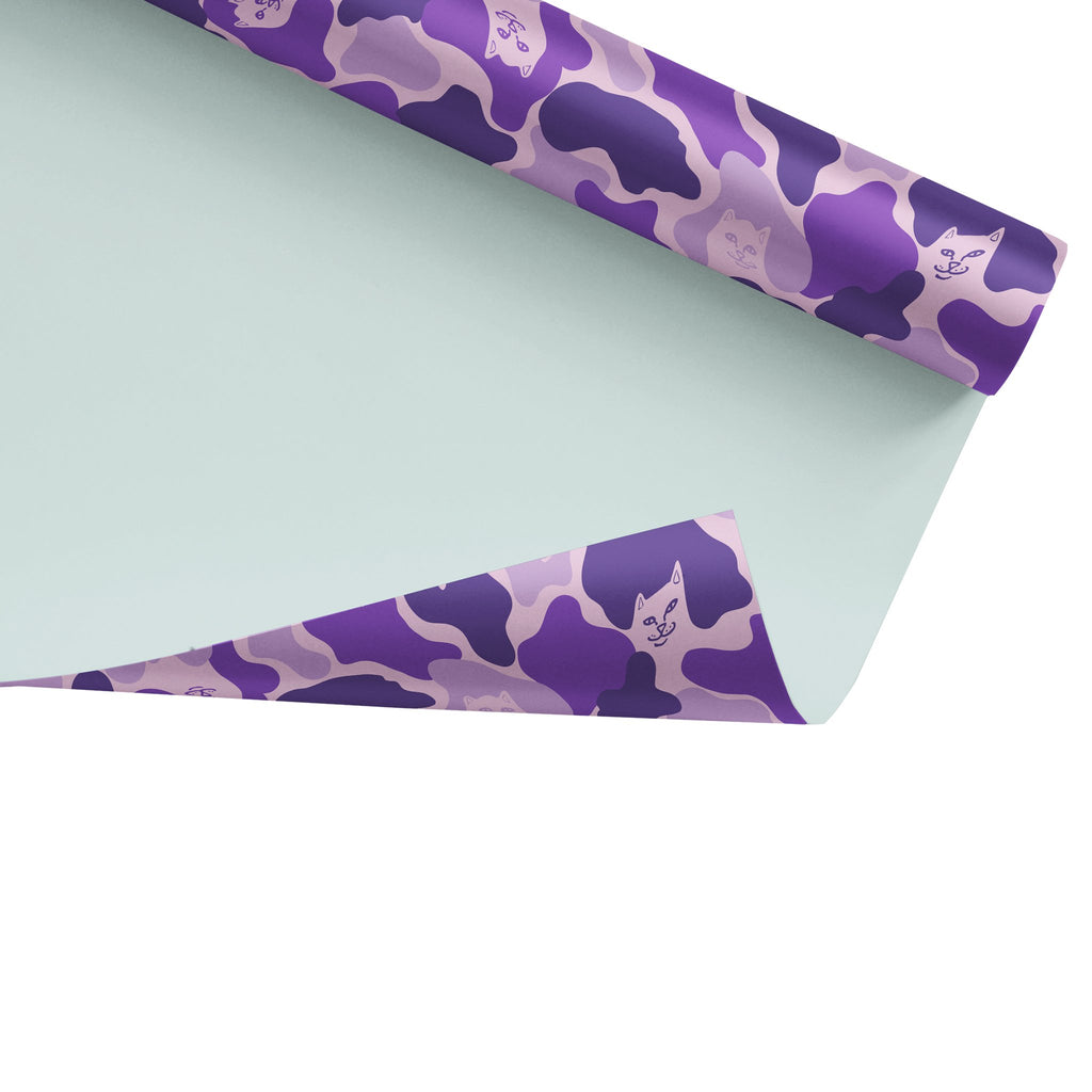 Nermal Camo Wrapping Paper (Purple Camo)