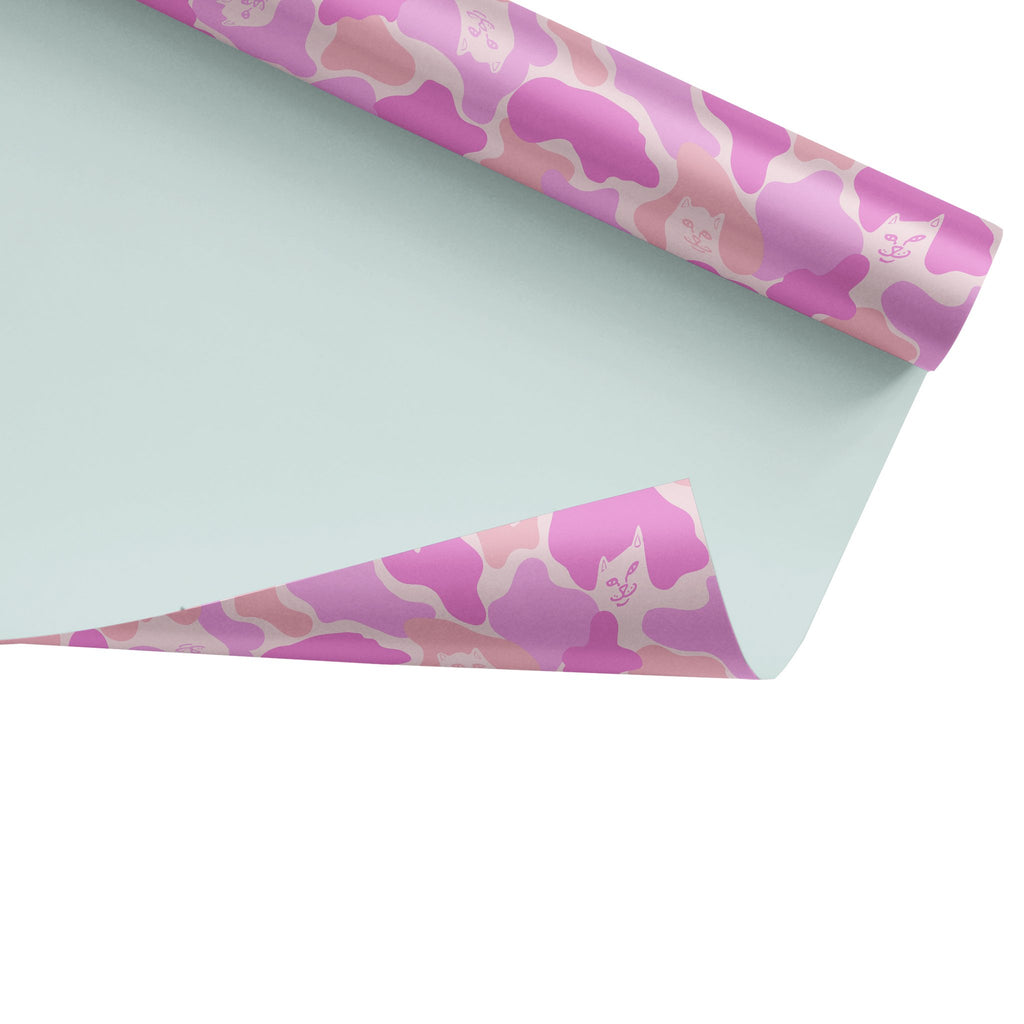 Nermal Camo Wrapping Paper (Pink Camo)