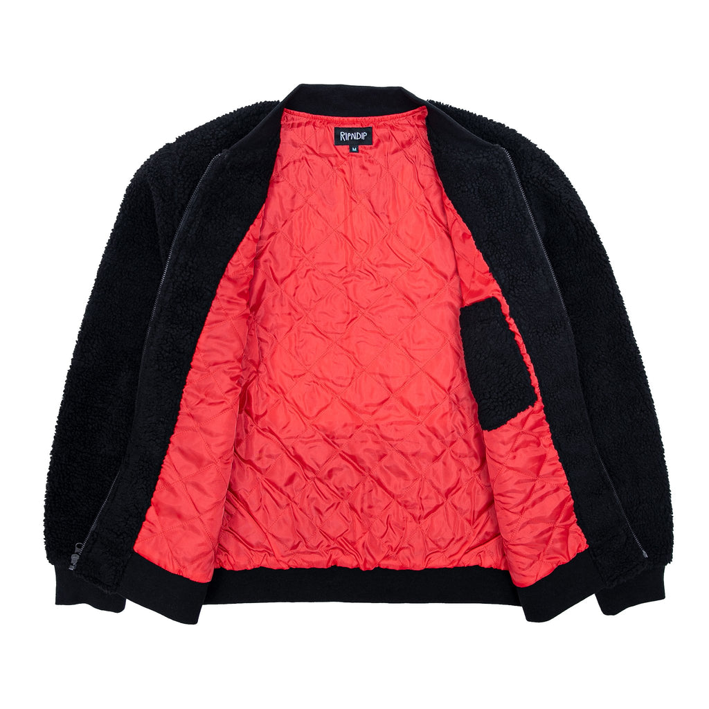 Ignite Sherpa Jacket (Black)