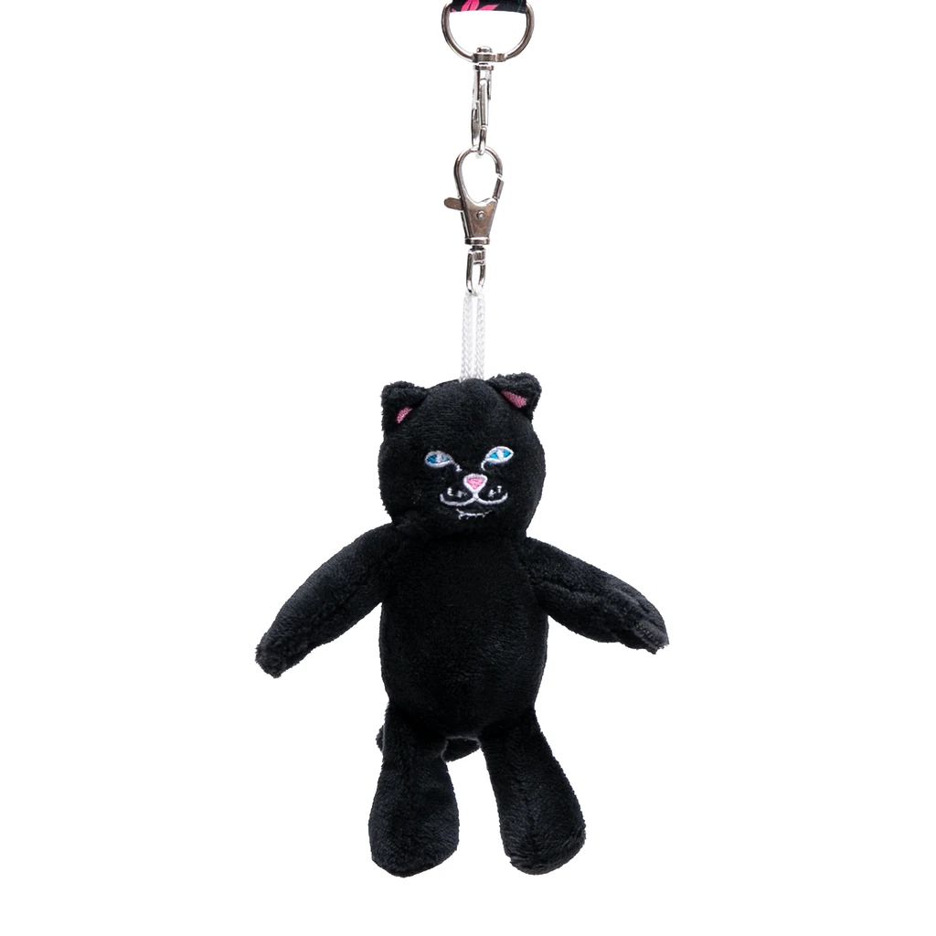Lord Jermal Plush Keychain (Black)