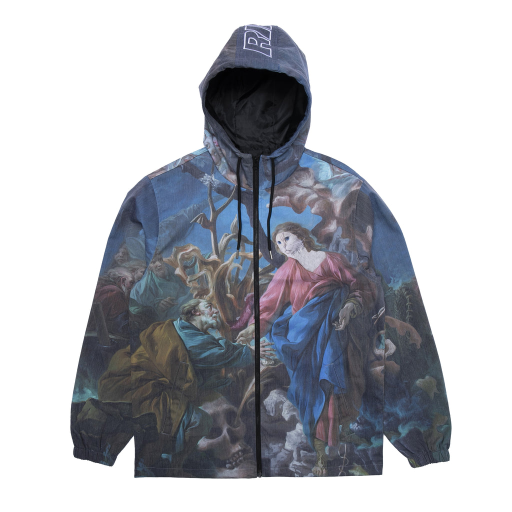 Majestic Hooded Coaches Jacket (Multi)