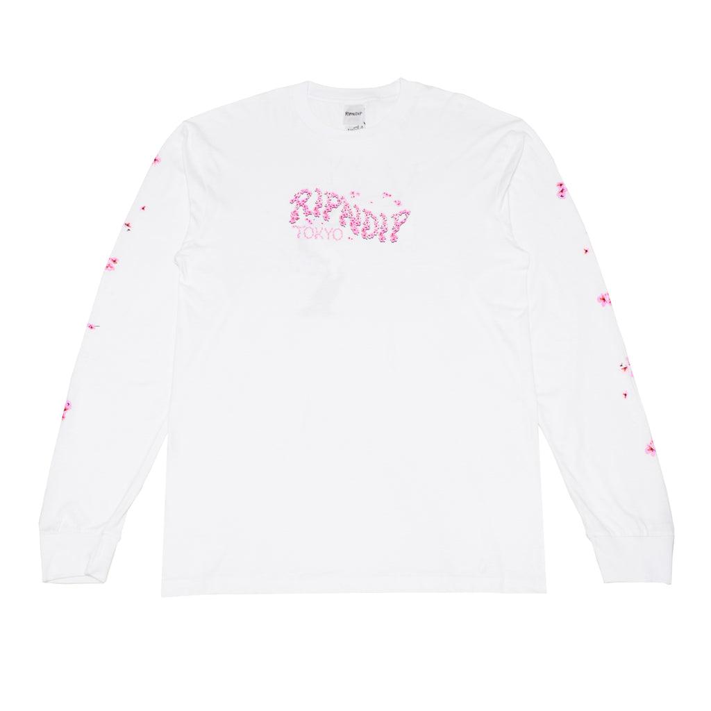 Cherry B LS (White)