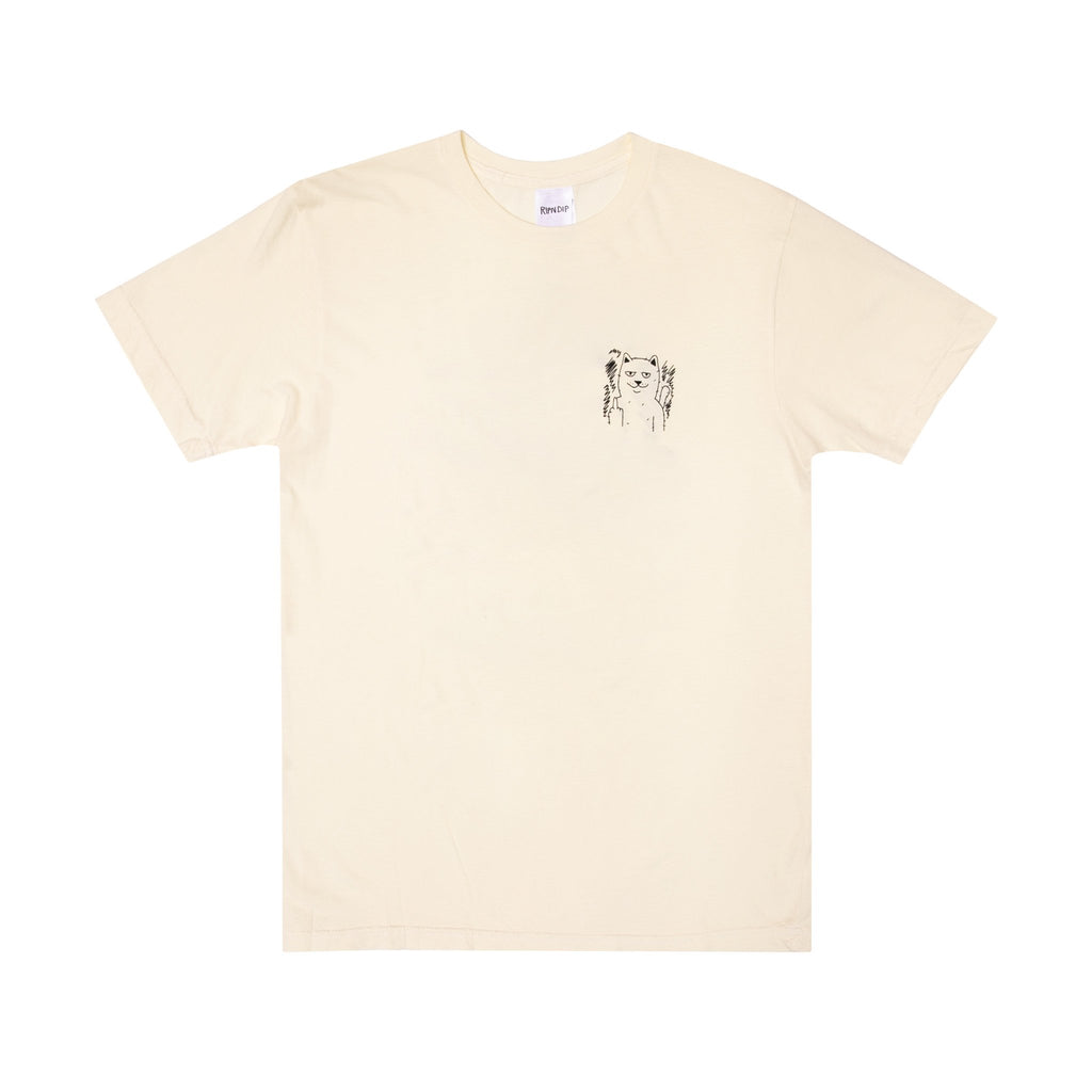 Fingered Tee (Natural)