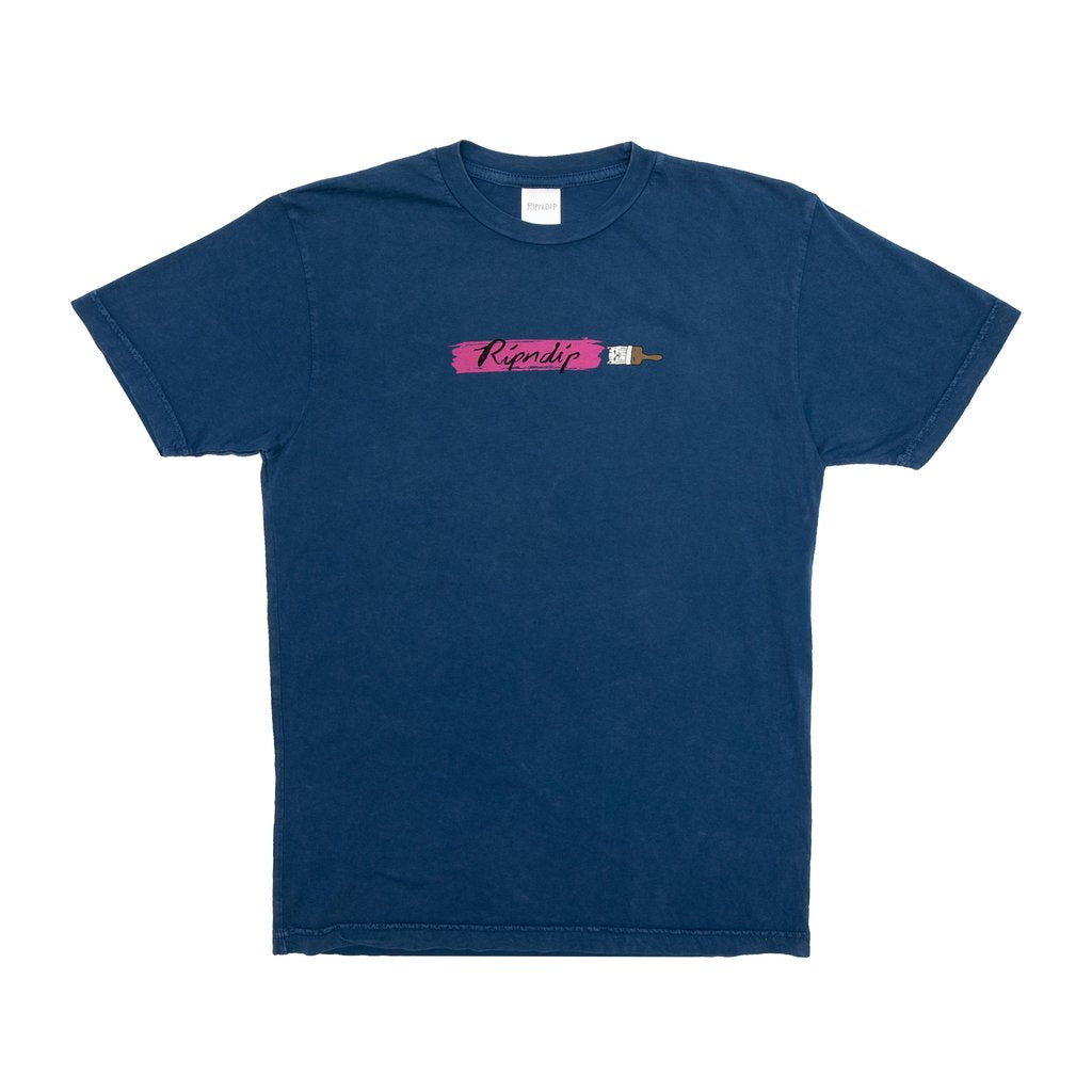 Beautiful Mountain Tee (Blue Mineral Wash)