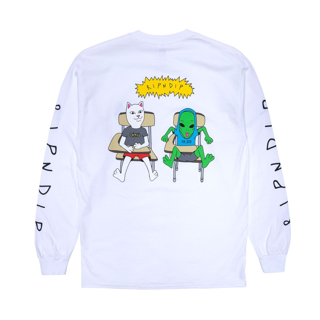 Butts Up Long Sleeve (White)