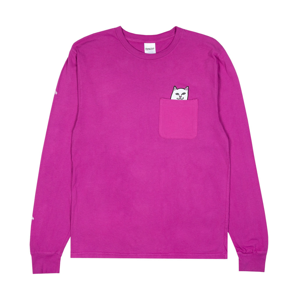 Lord Nermal Pocket L/S (Fuchsia)