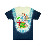 Nerm Fighter Tee (Navy Teal U Dye)