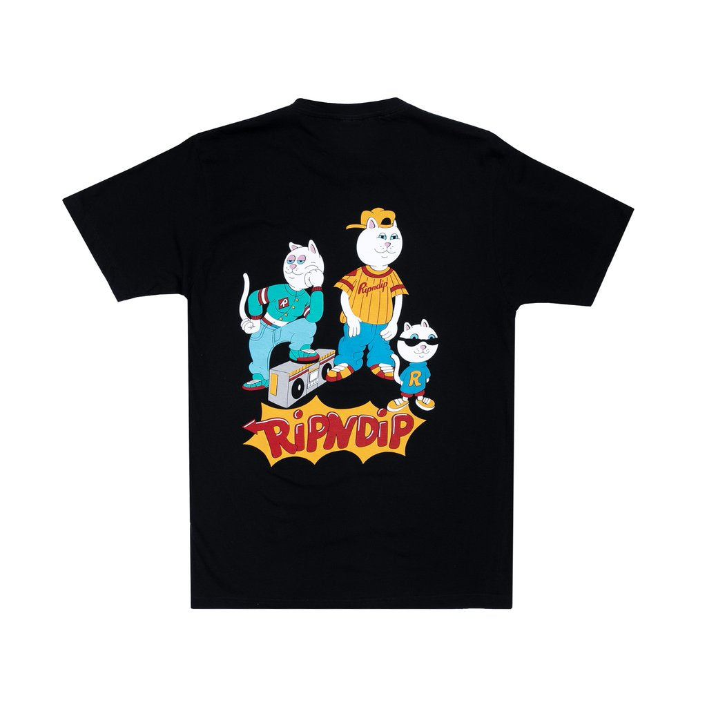 Nerm And The Gang Tee (Black)