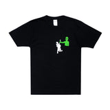 Hung Up Pocket Tee (Black)
