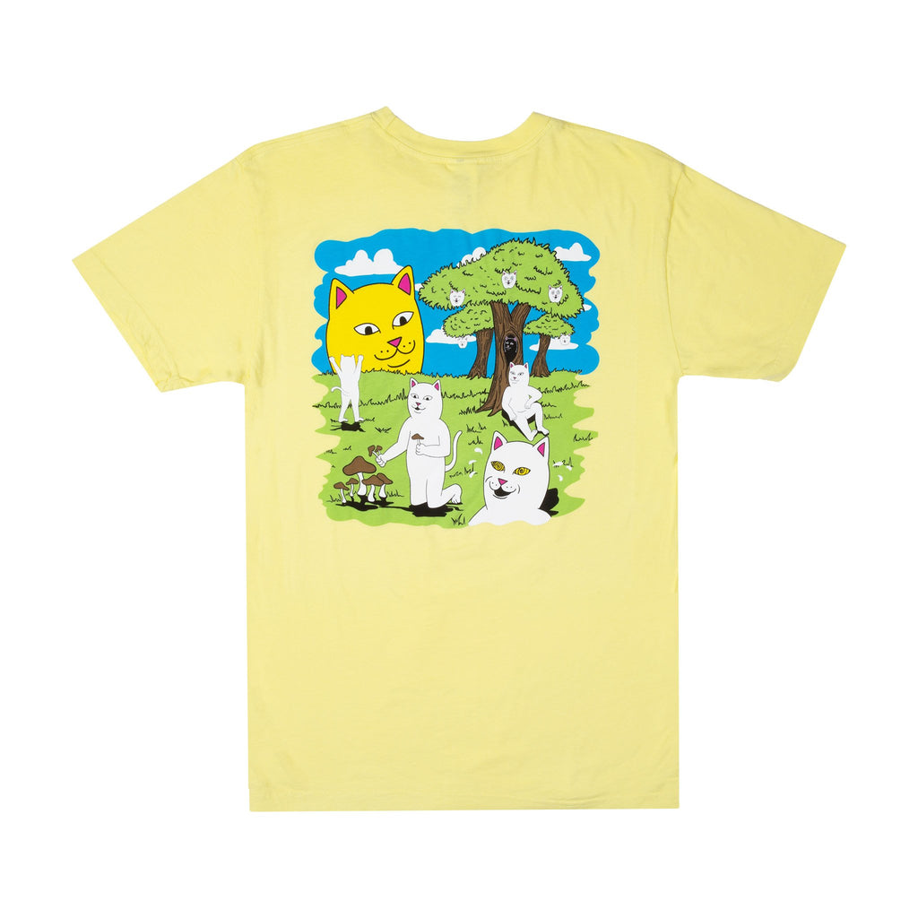Park Day Tee (Light Yellow)