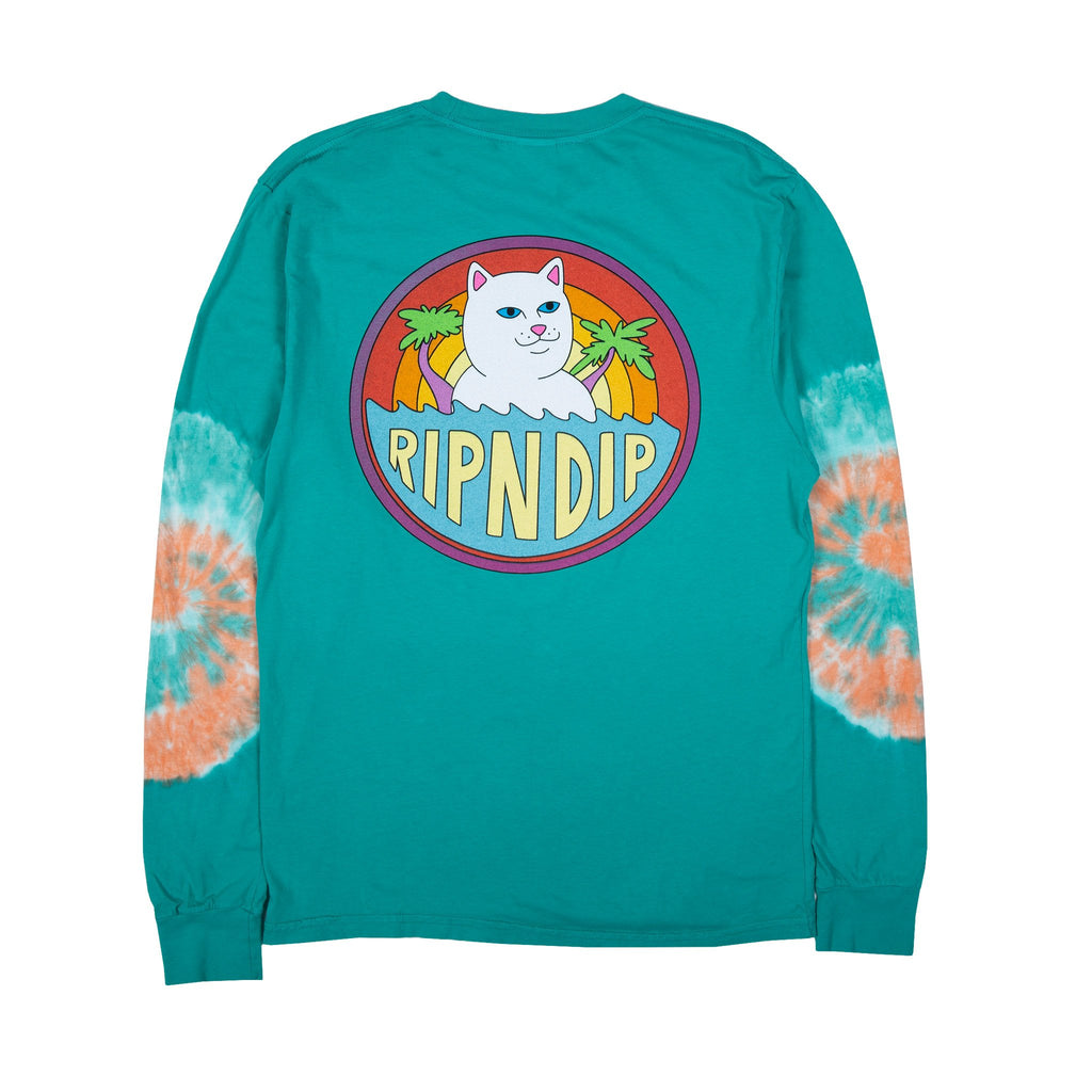 Tidal L/S (Teal Elbow Wash)