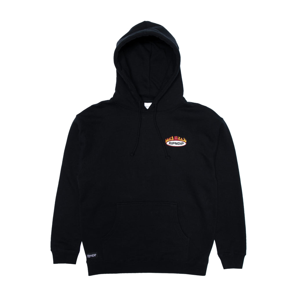 Welcome To Heck Hoodie (Black)