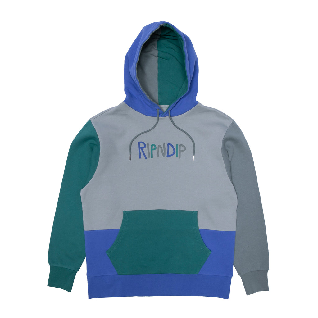 Ripndip Logo Color Panel Hoodie (Multi)