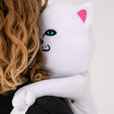 Lord Nermal Plush Backpack (White)