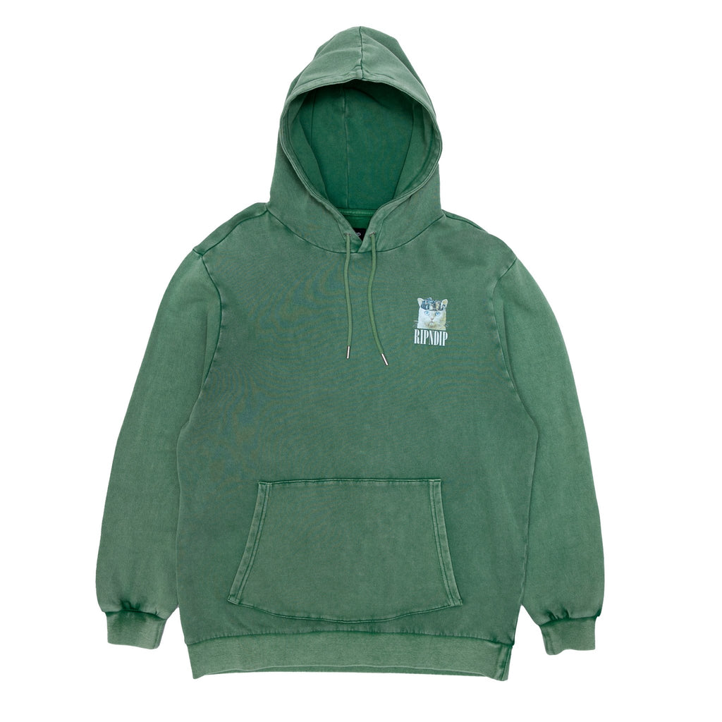 Masterpiece Hoodie (Hunter Mineral Wash)