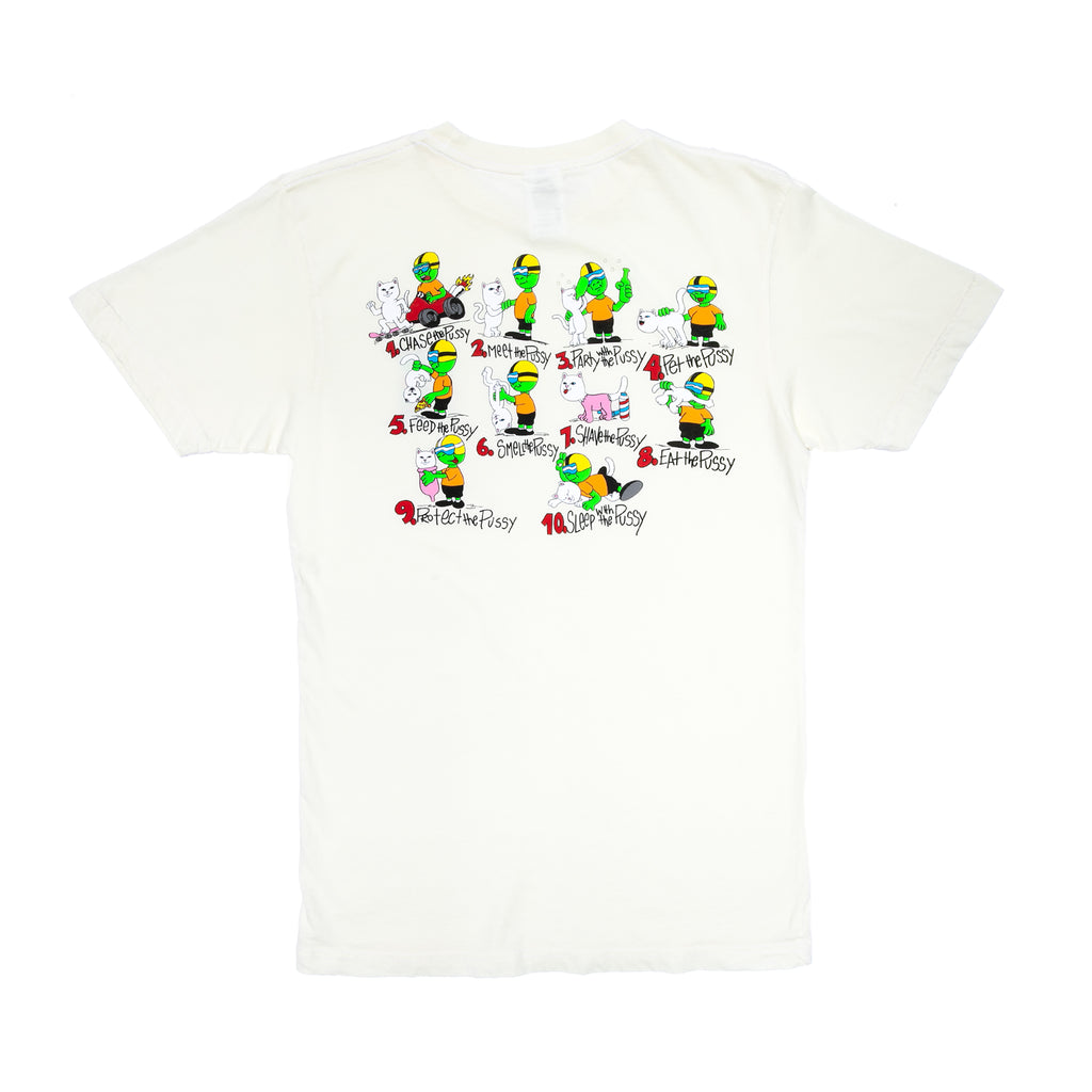 10 Steps 4 Pussy Tee (Natural)