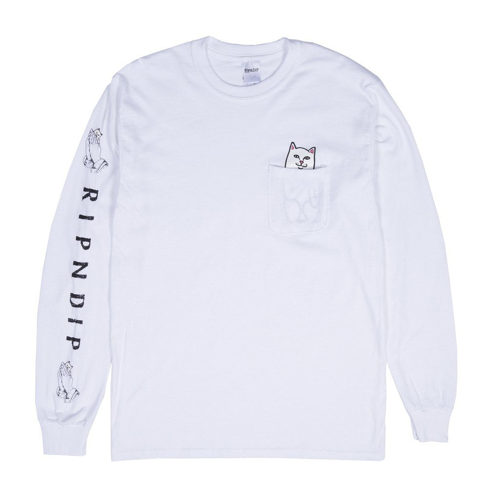 Lord Nermal Pocket L/S (White)