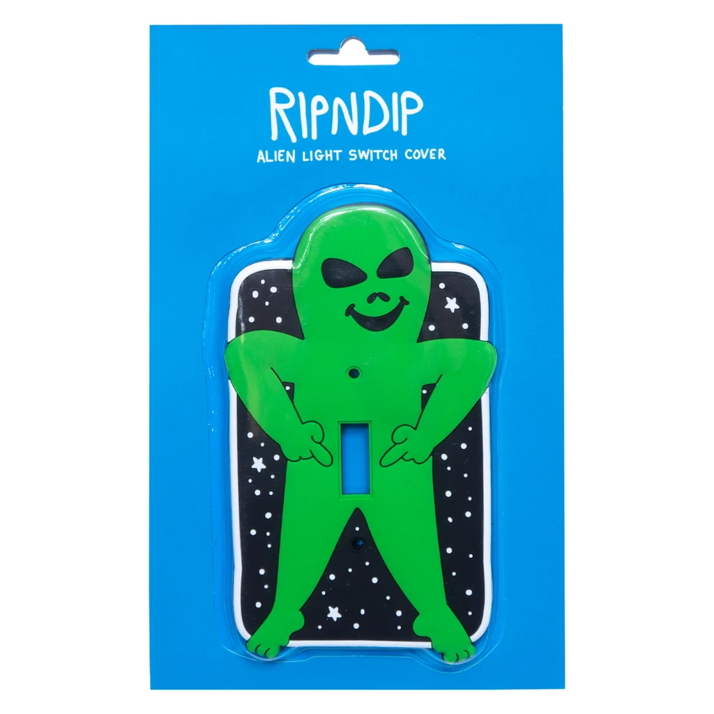 Lord Alien Light Switch (Green)