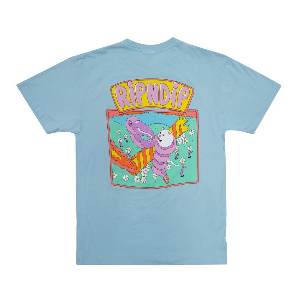 Battle Tee (Light Blue)