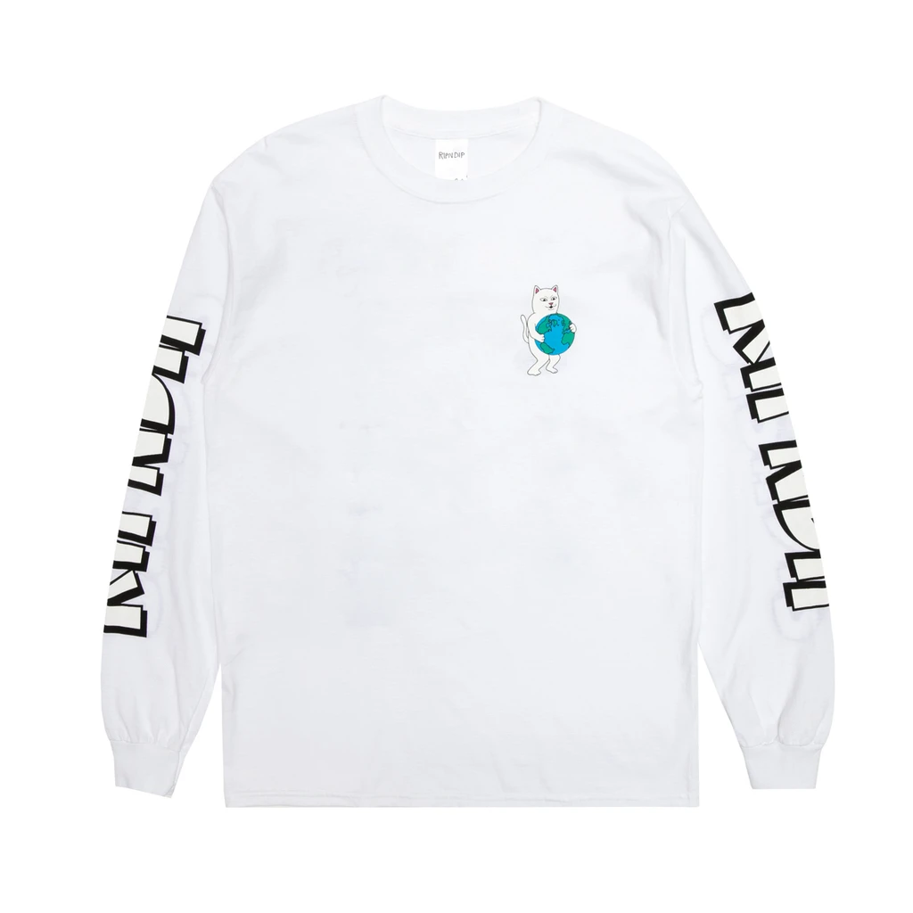 Fuck Everything L/S (White)