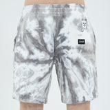 Peek A Nermal Sweat Shorts (Black Spiral Tie Dye)