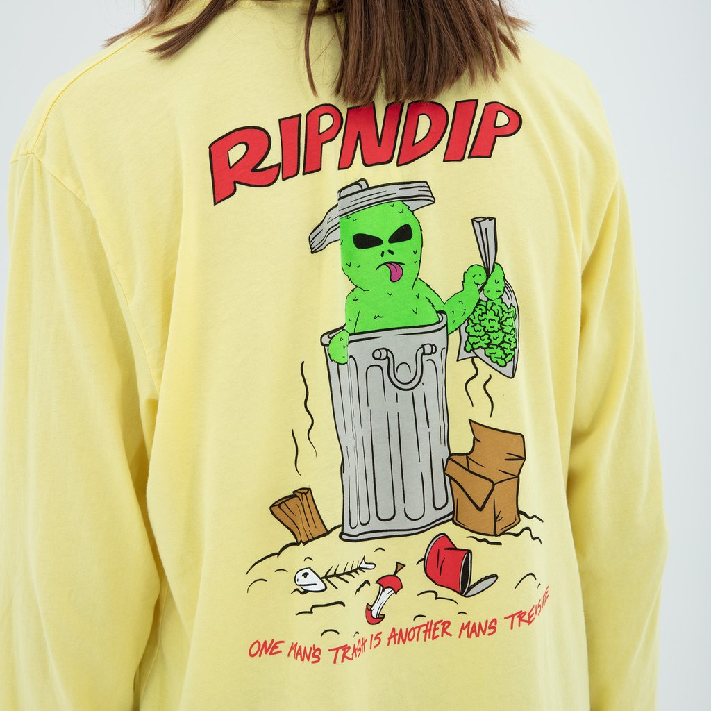 Trash & Treasure L/S (Bananna)
